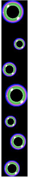 rowofbubbles